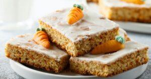 Homemade Sugar Glazed Carrot Cake