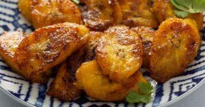 Homemade Caramelized Fried Plantains