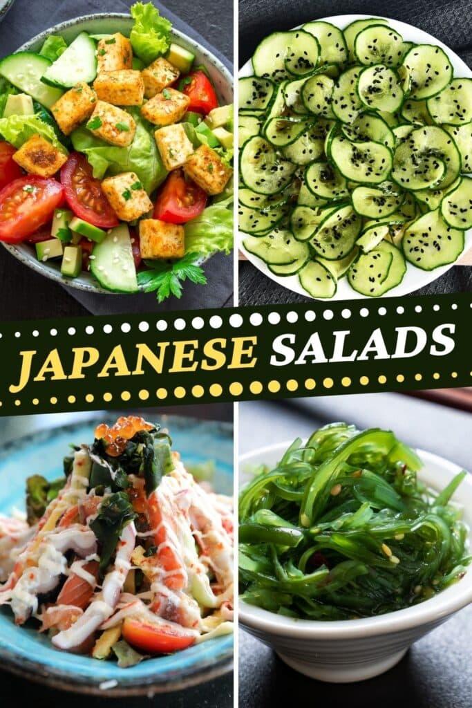 Japanese Salads