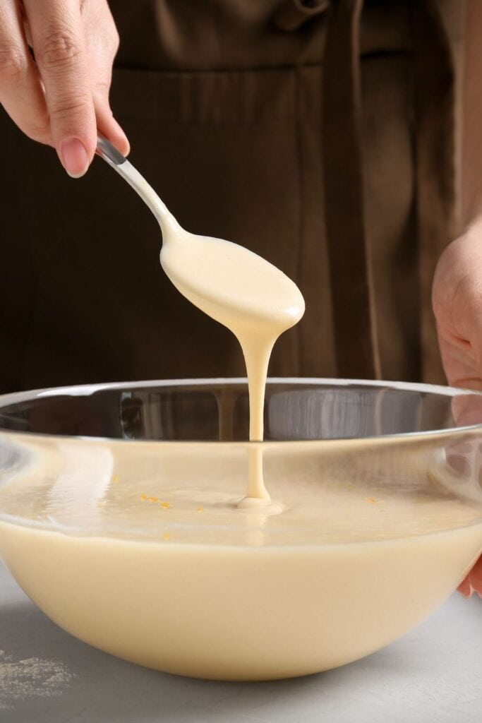 Making Batter in a Container