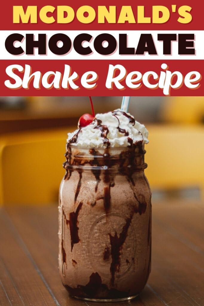 McDonald's Chocolate Shake Recipe