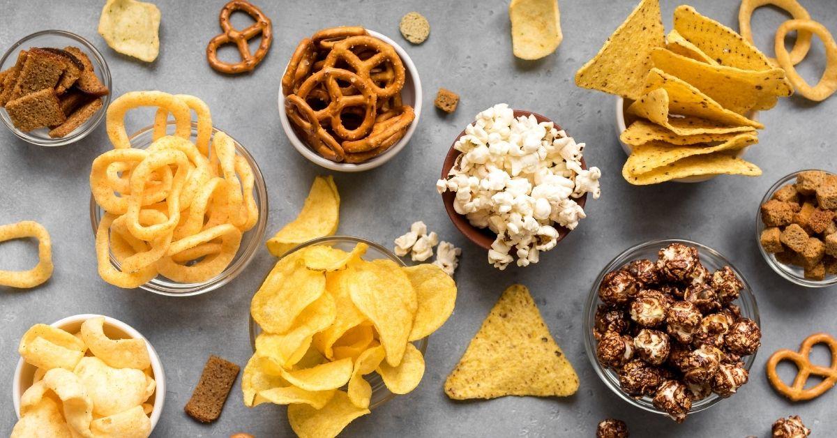 Movie Night Snacks: Popcorn, Pretzels and Chips