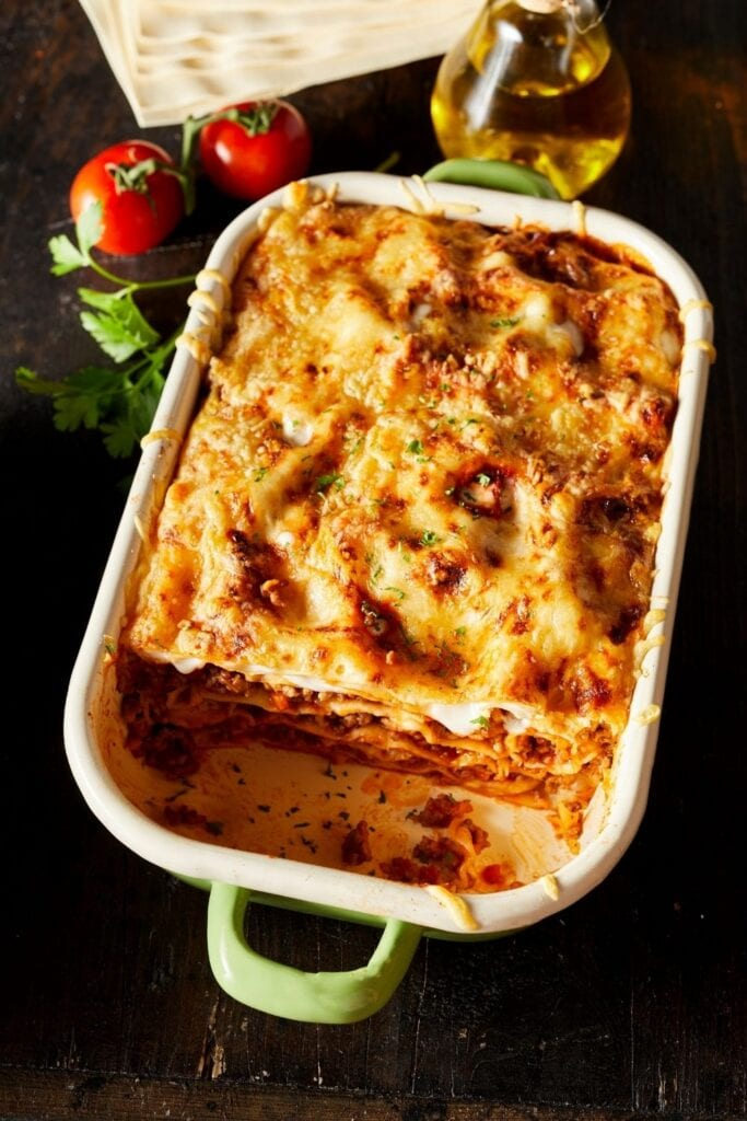 Oven-Baked Lasagna