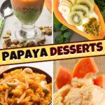 Papaya Desserts