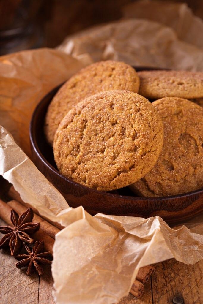 Snickerdoodle Brown Sugar Cinnamon Cookies