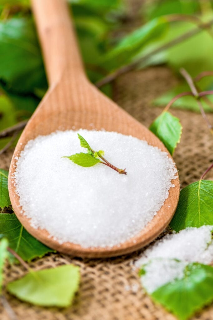 Spoon of Xylitol