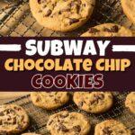 Subway Chocolate Chip Cookies