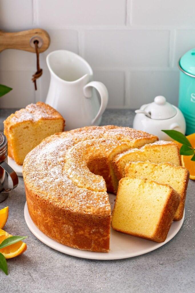 Traditional Vanilla Pound Cake