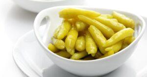Bowl of Appetizing Banana Peppers
