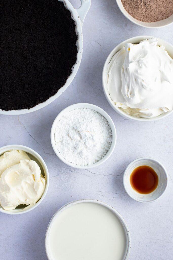 Burger King Hershey's Sundae Pie Ingredients: Chocolate Pudding Mix, Flour, Whipped Cream and Cream Cheese
