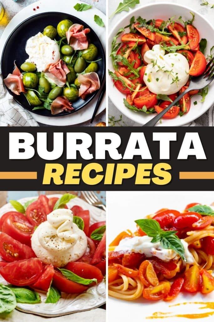 Burrata recipes