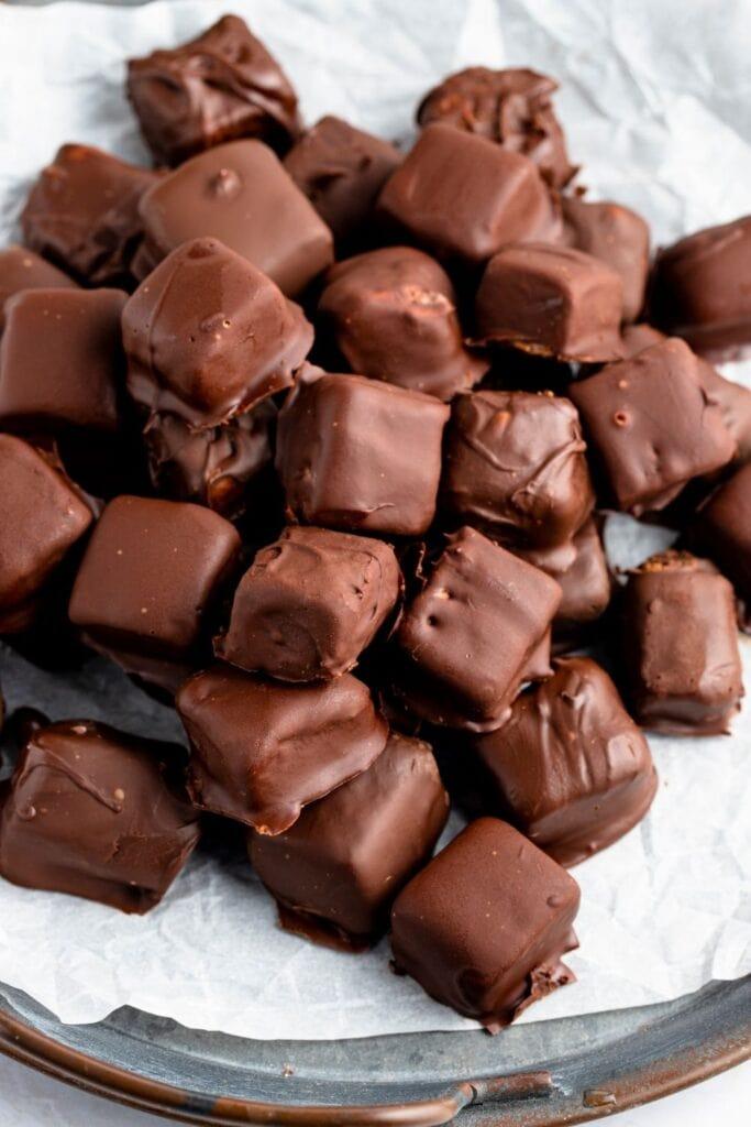 Chocolate Bavarian Mints