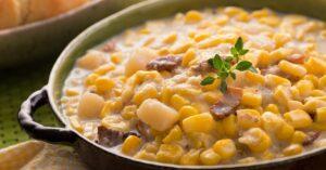 Corn Chowder with Bacon
