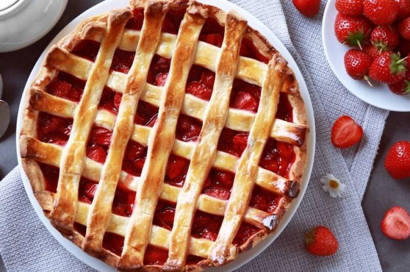 Strawberry Pie With Frozen Strawberries