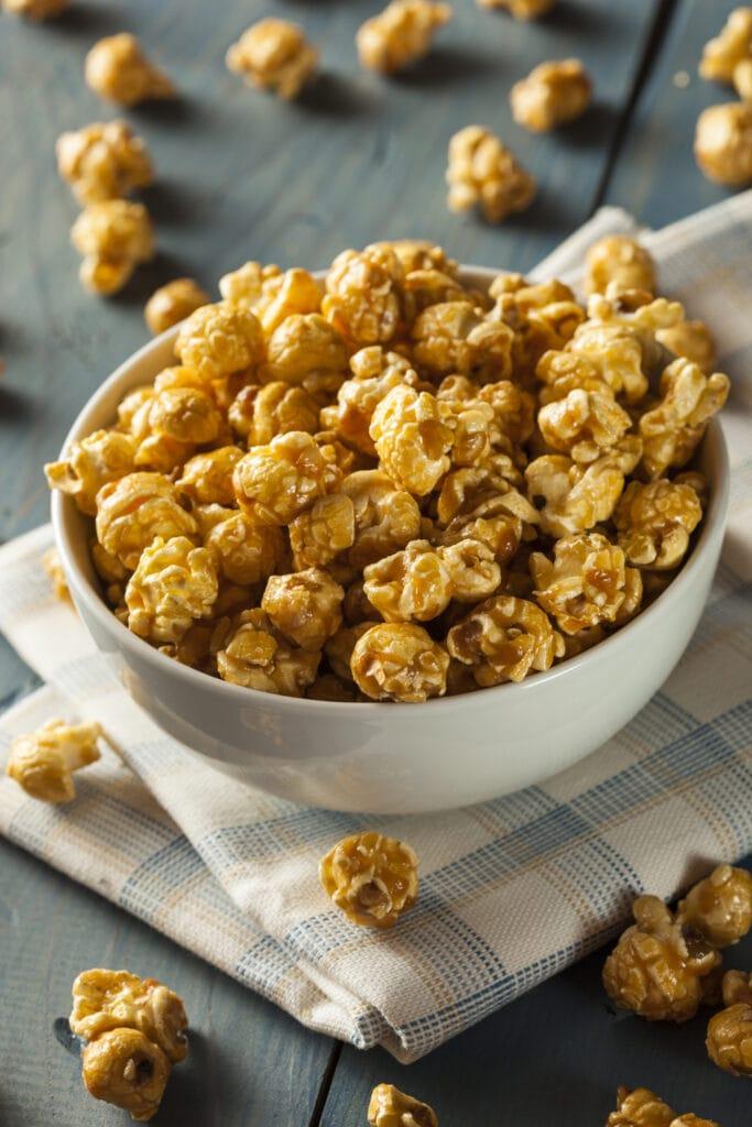 Golden Caramel Popcorn