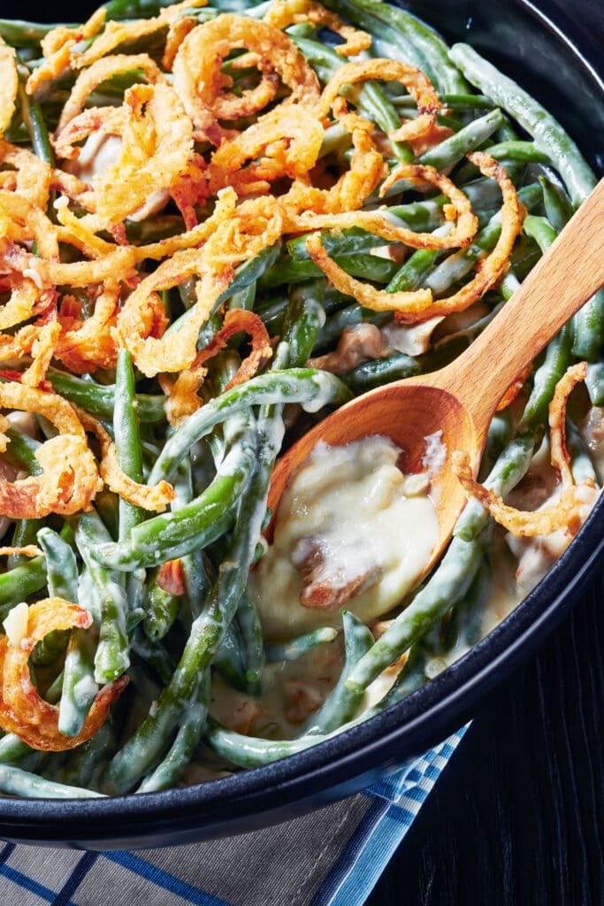 Green Bean Casserole with Fried Onions