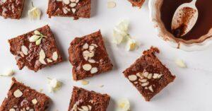 Healthy Vegan Pumpkin Brownie Bars