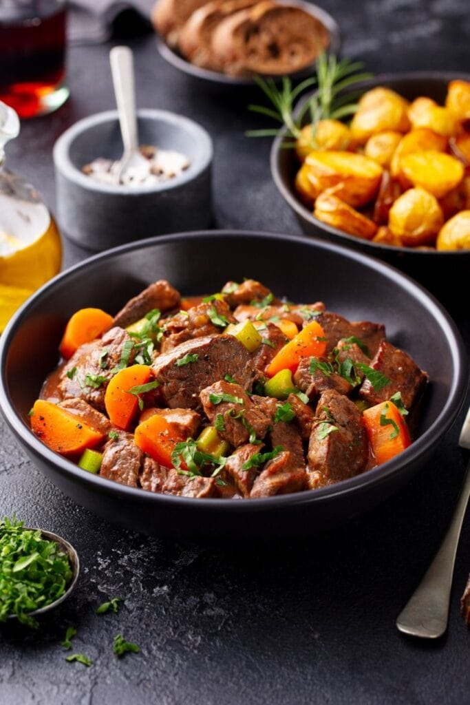 Homemade Beef Bourguignon