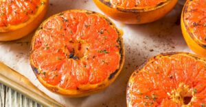 Homemade Grapefruits with Honey and Thyme