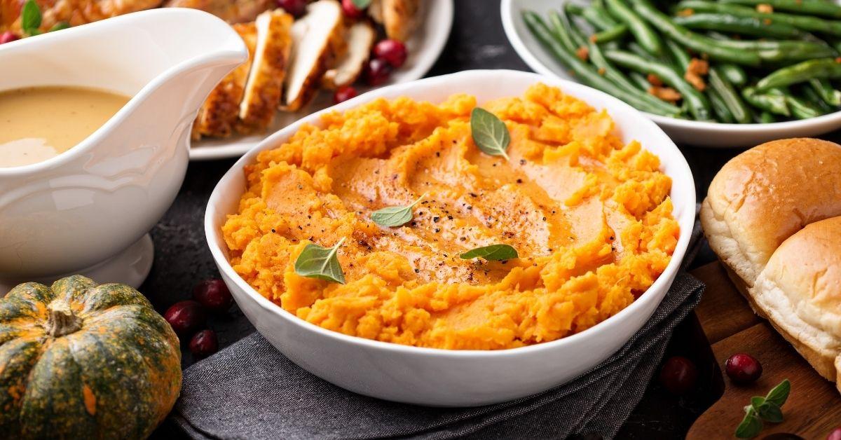 Homemade Mashed Sweet Potatoes