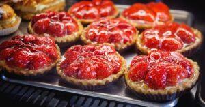 Homemade Sweet Strawberry Tart