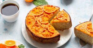 Homemade Tangerine Upside Down Cake