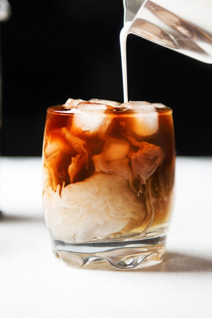 Ice Brewed Coffee with Milk