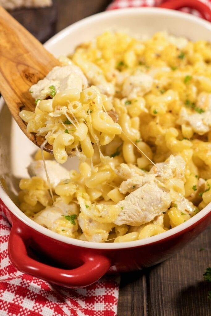 Mac and Cheese Chicken Casserole
