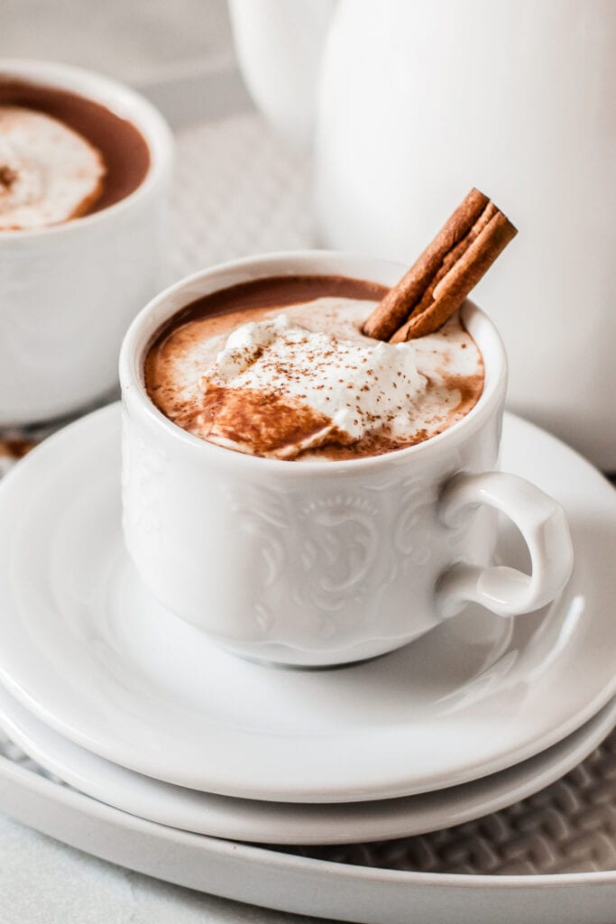 Mexican Hot Chocolate with Cinnamon