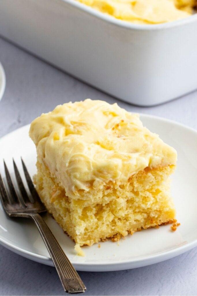 Moist and Butter Pineapple Dream Cake