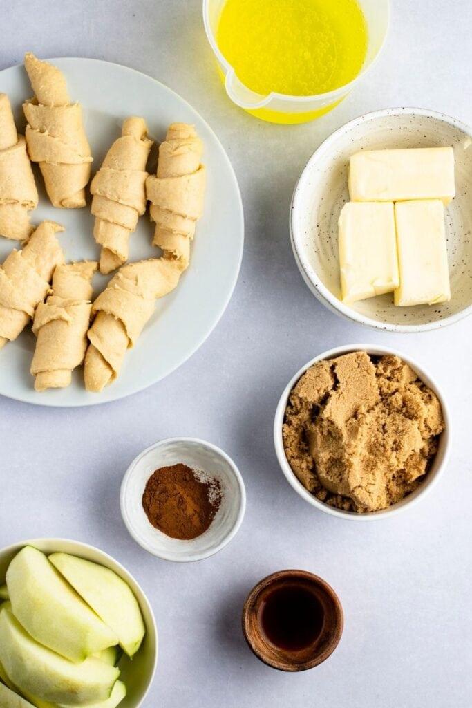 Mountain Dew Apple Dumplings Ingredients