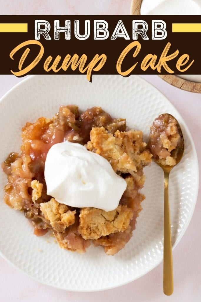 Rhubarb Dump Cake