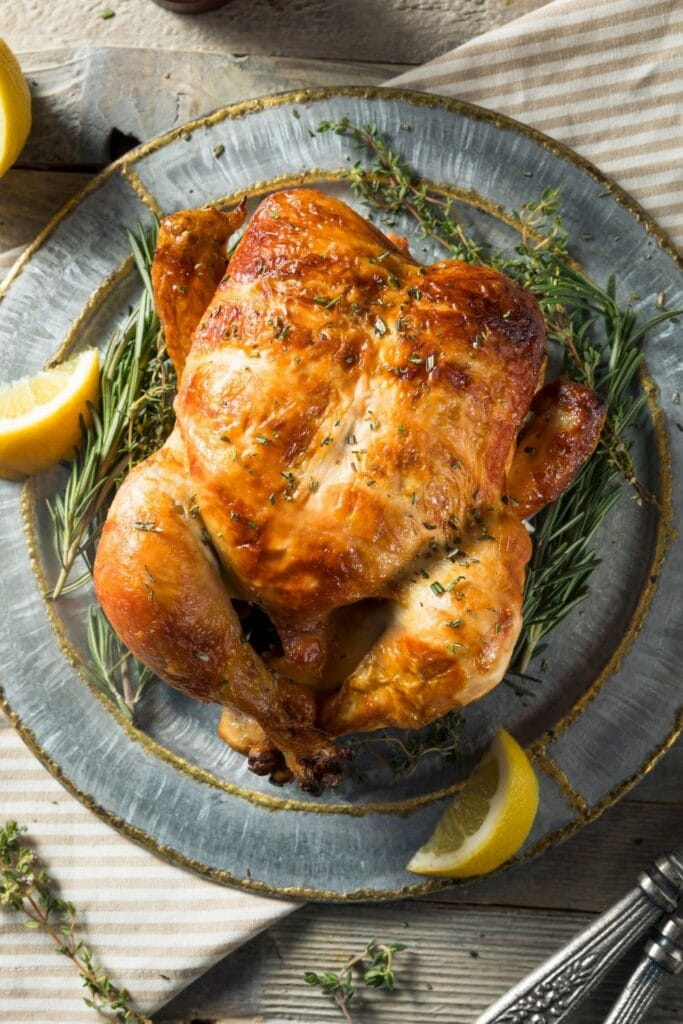 Rotisserie Chicken with Herbs and Spices