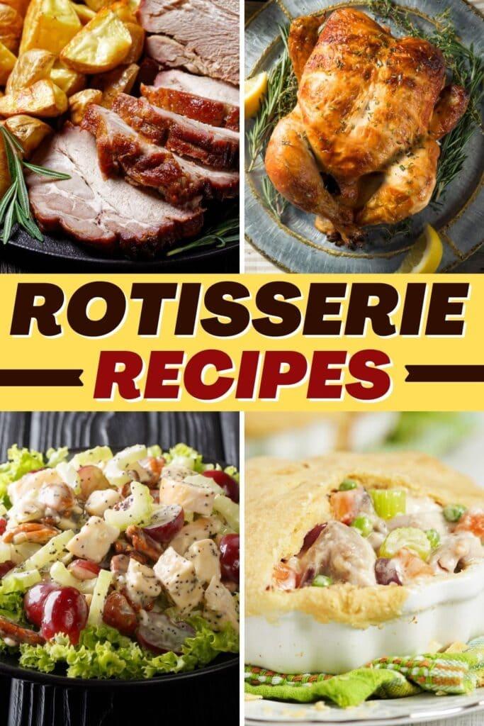 Rotisserie Recipes