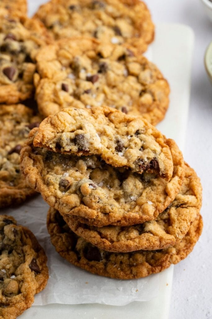 Soft and Chewy Cowboy Cookies