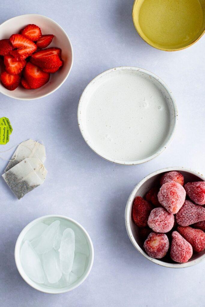 Strawberry Pink Drink Ingredients