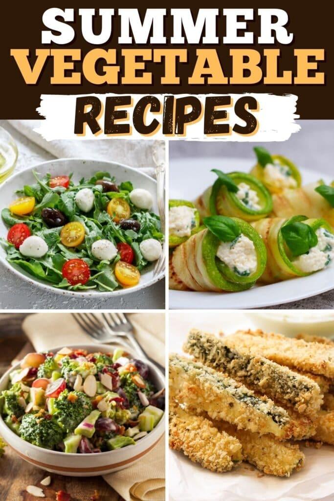 Summer Vegetable Recipes
