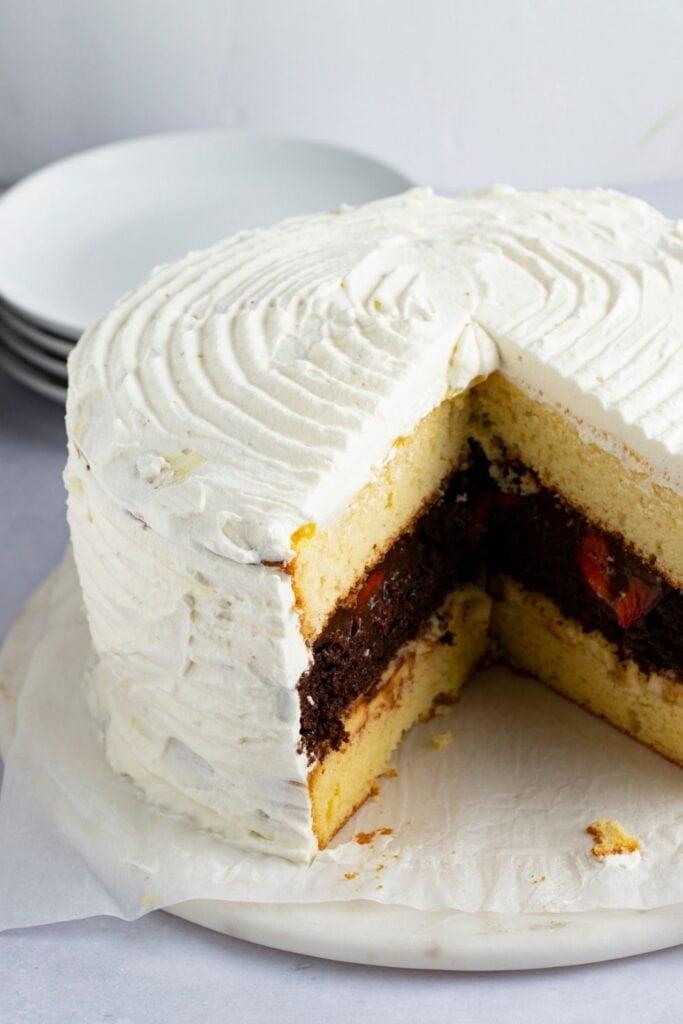 Sweet Atomic Layered Cake