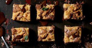 Sweet Brookie or Chocolate Cookie Brownies