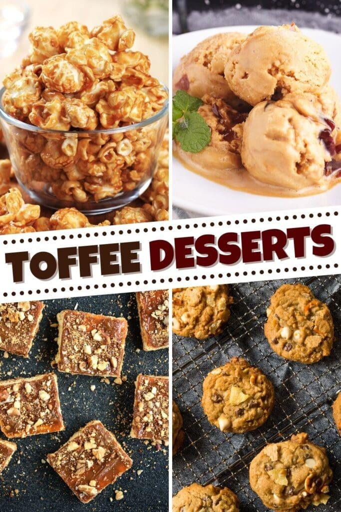 Toffee Desserts