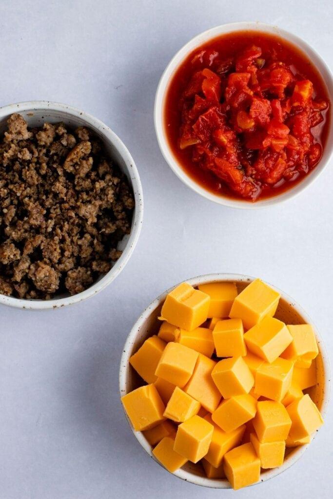 Velveeta Sausage Dip Ingredients