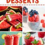 Watermelon Desserts