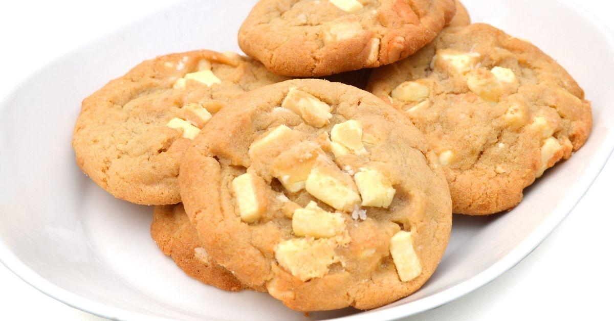 White Chocolate and Macadamia Nut Cookies