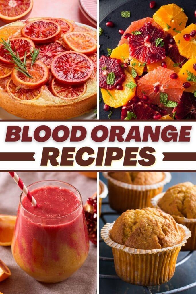 Blood Orange Recipes