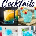 Blue Cocktails