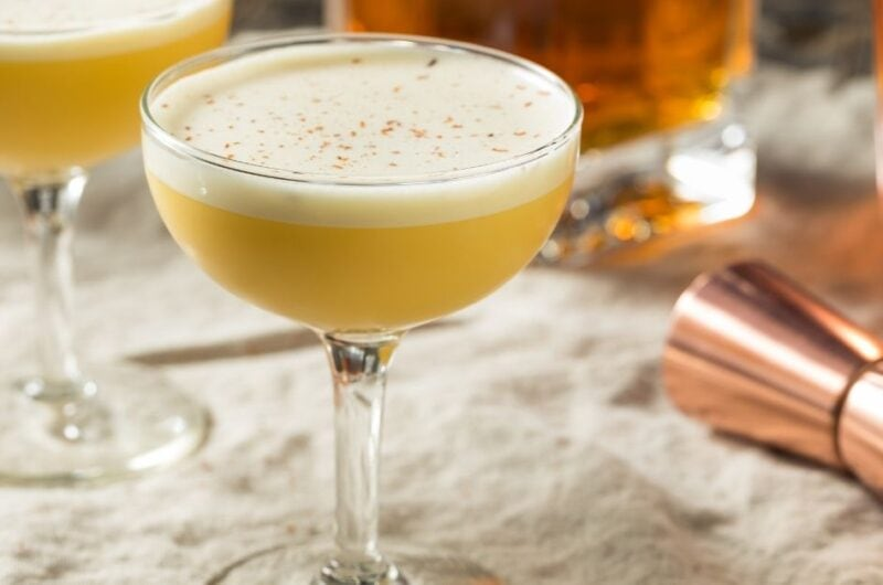 20 Holiday Eggnog Cocktails
