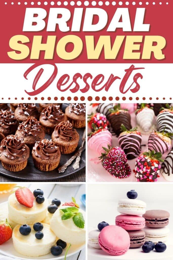 Bridal Shower Desserts