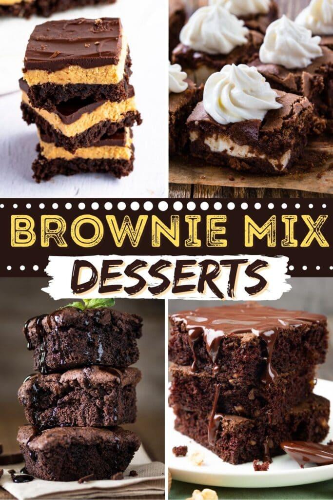 Brownie Mix Desserts