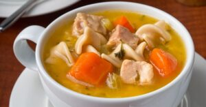 Chicken Noodle Soup with Carrots