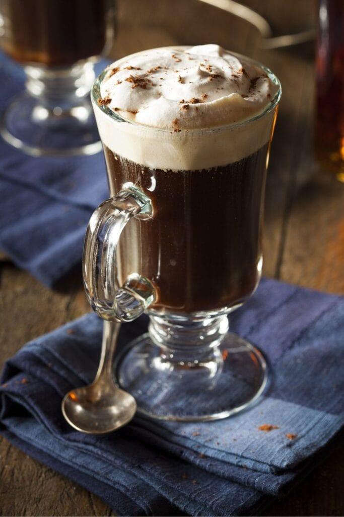 Cozy and Warming Irish Coffee
